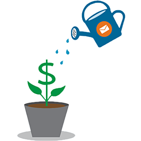 email-marketing-grow-money-plant